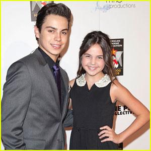 Bailee Madison & Jake T. Austin: Hero Dog Awards 2012
