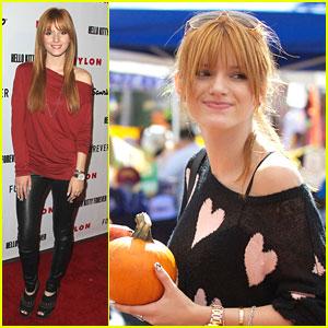 Bella Thorne: Pumpkin Patch Pretty