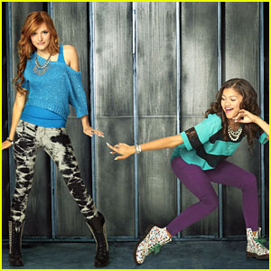 Bella Thorne & Zendaya: New 'Shake It Up' Promo Pics!