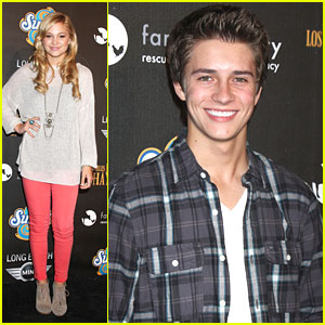 Billy Unger And Demi Lovato
