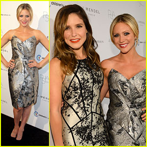 Brittany Snow: Autumn Party 2012 with Sophia Bush