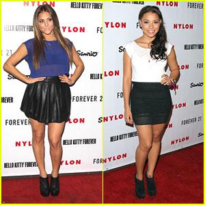 Cassie Scerbo & Jessica Parker Kennedy: Nylon IT Girls