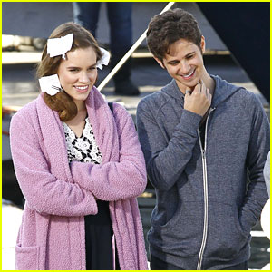 Christa B. Allen: Pink Robe on 'Revenge' Set