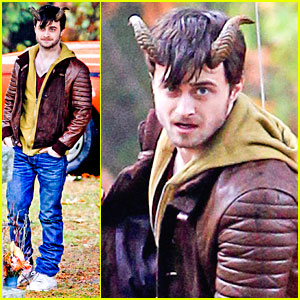 Daniel Radcliffe: 'Horns' in The Cemetery