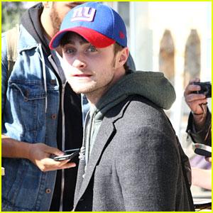 Daniel Radcliffe: 'Horns' Script Is So Good