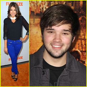Nathan Kress &#038; Daniella Monet: 'Fun Size' Premiere Pair