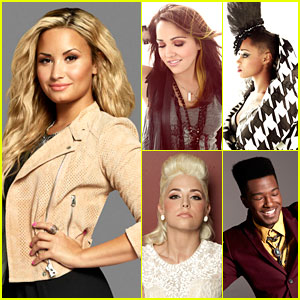 Demi Lovato: Meet My 'X Factor' Team!