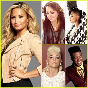 Demi Lovato: Meet My 'X Factor' Team!