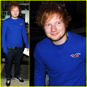 Ed Sheeran: BBC Radio 1 Arrival