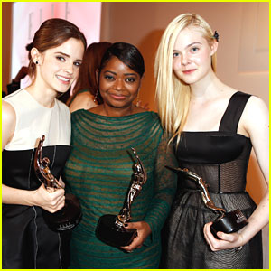 Elle Fanning Thanks Big Sister Dakota During Elle's Women in Hollywood Event