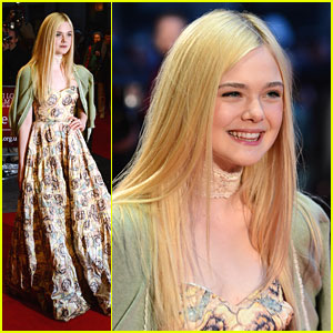 Elle Fanning: 'Ginger & Rosa' Premiere in London