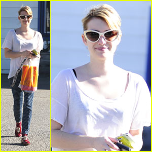 Emma Roberts: Opening Ceremony Shopper