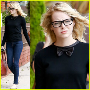 Emma Stone: Bow Ties are Cool