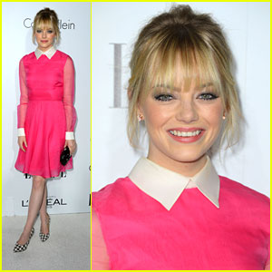 Emma Stone Honors Women in Hollywood with Elle