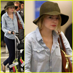 Emma Stone: Hello Los Angeles!