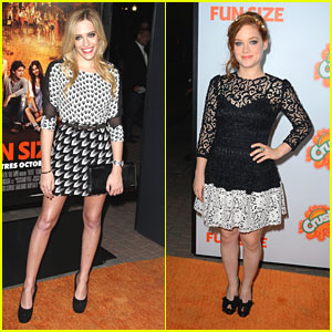 Jane Levy: 'Fun Size' Premiere with Carly Chaikin