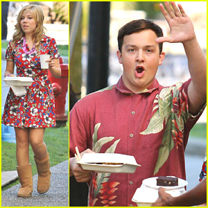 Jennette McCurdy: 'Swindle' Set Pics!