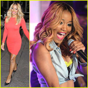 Keke Palmer Goes Blonde; Will Co-Host 'Anderson Live'