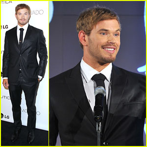 Kellan Lutz: GQ Gentlemen's Ball 2012