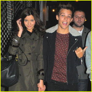 Louis Tomlinson & Eleanor Calder: 'X Factor' Themed Date Night!