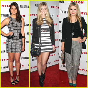 Maia Mitchell: Hello Kitty Launch with Taylor Spreitler