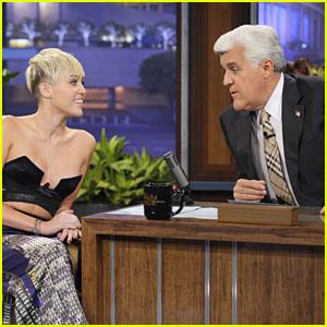 Miley Cyrus: Leno Lady
