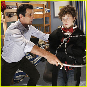 Nolan Gould: All Chained Up for 'Modern Family'