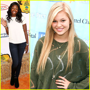 Olivia Holt Parties on the Pier with Coco Jones