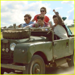 One Direction: 'Live While We're Young' Behind-The-Scenes Video - Watch Now!
