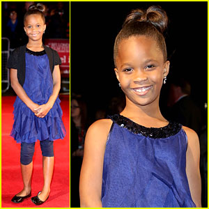 Quvenzhane Wallis: 'Beasts of the Southern Wild' London Premiere!