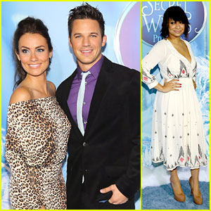 Matt Lanter & Raven Symone: 'Secret of the Wings' Premiere in NYC