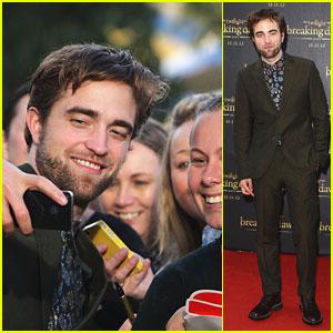 Robert Pattinson: 'Breaking Dawn' Fan Event in Sydney!