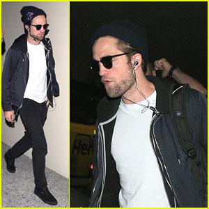 Robert Pattinson: LAX Lift Off
