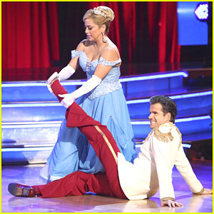 Sabrina Bryan & Louis Van Amstel: Cinderella's Waltz on 'Dancing With The Stars: All-Stars'