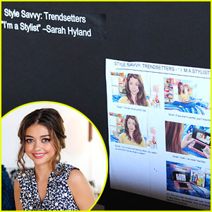 Sarah Hyland is Style Savvy for Nintendo -- Behind The Scenes Pics!