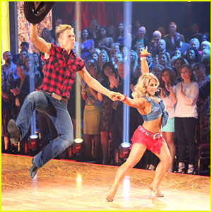 Shawn Johnson & Derek Hough: Country Cha Cha on Dancing With The Stars: All Stars