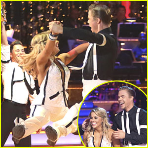 Shawn Johnson & Derek Hough - Quickstep on Dancing With The Stars: All-Stars