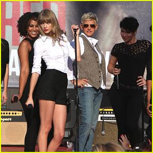 Taylor Swift: 'Ellen' Appearance Today!