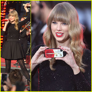 Taylor Swift: GMA Concert Pics!