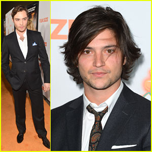 Thomas McDonell: 'Fun Size' Premiere with Ed Westwick