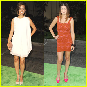 Torrey DeVitto & Lindsey Shaw: Environmental Media Awards 2012