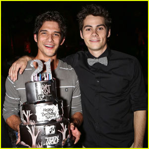 Tyler Posey: 21st Birthday Party with Dylan O�Brien!