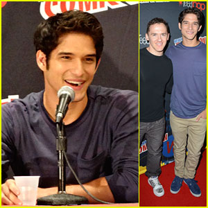 Tyler Posey: 'Teen Wolf' at New York Comic Con!
