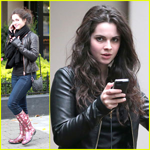 Vanessa Marano & Charlie Carver: 'Restless' in Vancouver