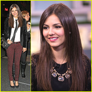 Victoria Justice: 'Fun Size' On Jimmy Fallon