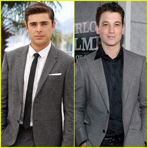 Zac Efron & Miles Teller: 'Are We Offically Dating' Co-Stars!