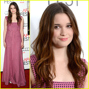 Alice Englert: 'Ginger & Rosa' at AFI 2012