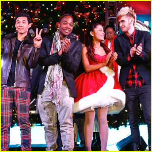 Ariana Grande: Citadel Outlets Tree Lighting with Roshon Fegan!