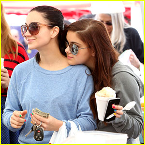 Ariel Winter: Farmer's Market with Sister Shanelle