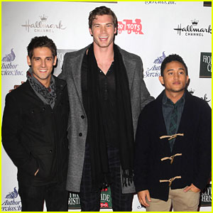 Tahj Mowry & Jean-Luc Bilodeau: Hollywood Christmas Parade with Derek Theler
